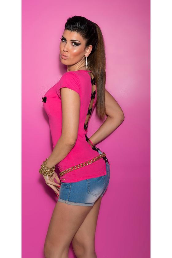Tamsiai mėlynos spalvos megzta suknelė atvirais pečiais