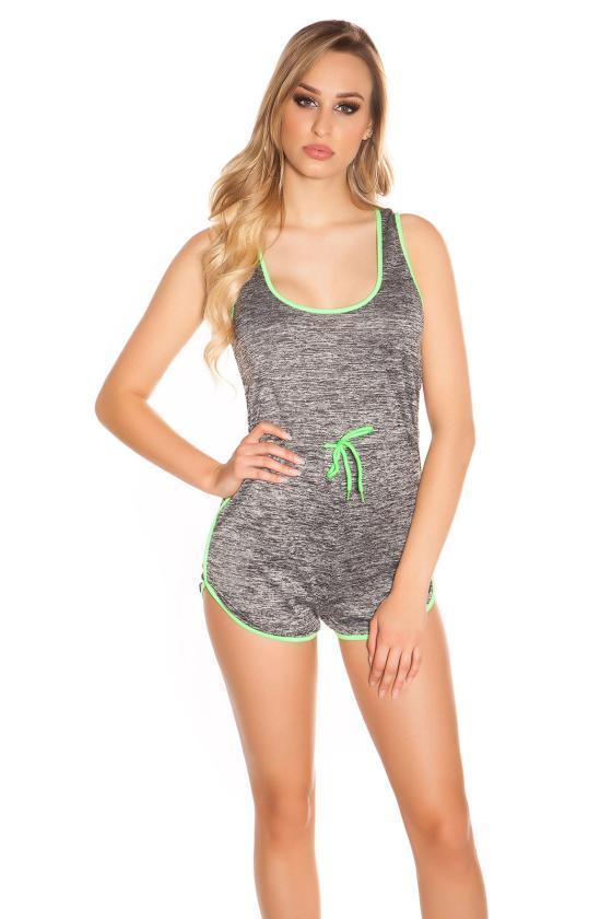 Juodos spalvos megzta suknelė atvirais pečiais_171179