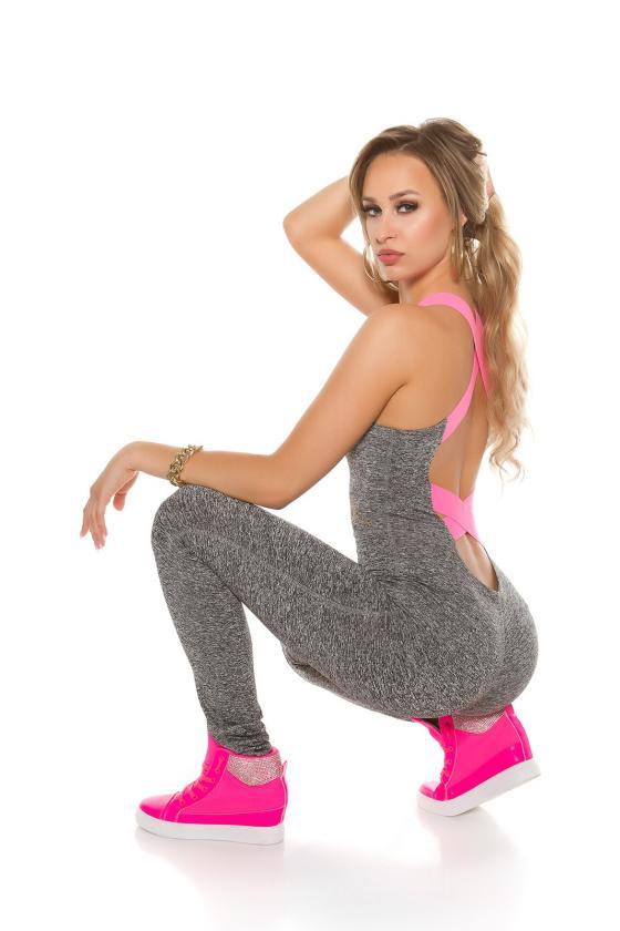 Chaki spalvos veliūrinis laisvalaikio kostiumas_171282