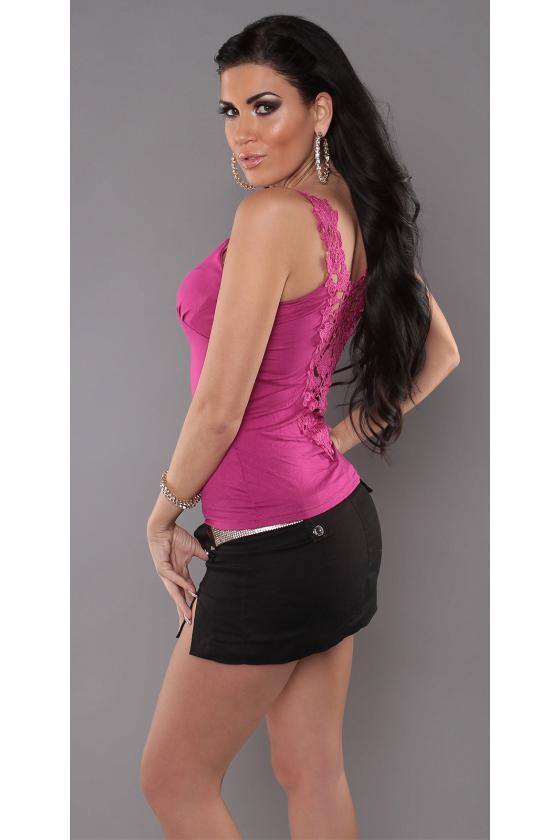 Baltos spalvos megzta suknelė_171295