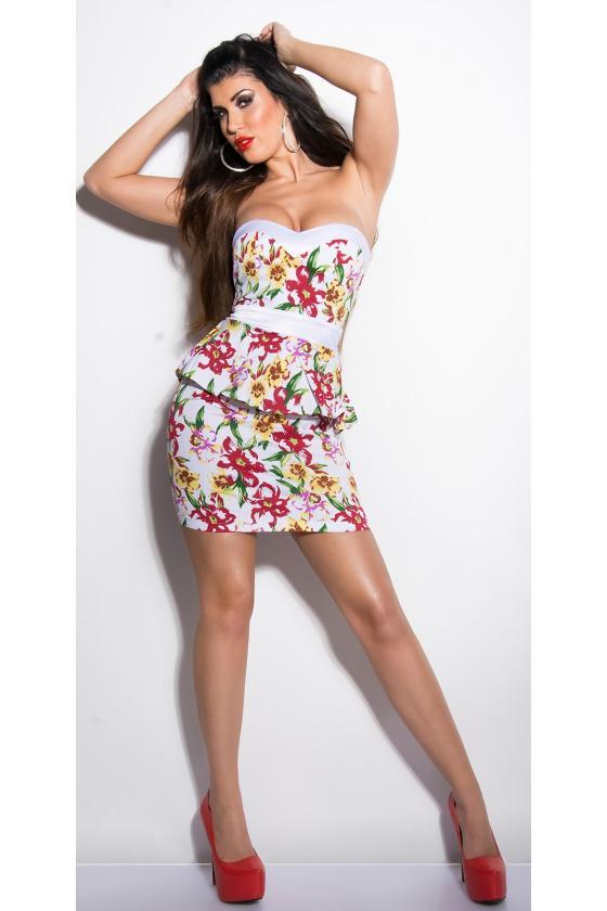 Žalios spalvos megzta suknelė_171304