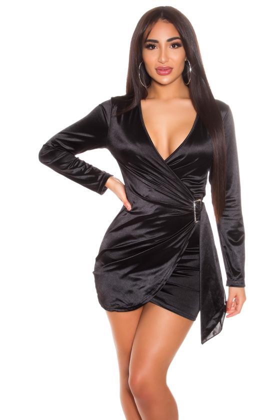 Žalios spalvos megzta suknelė_171305