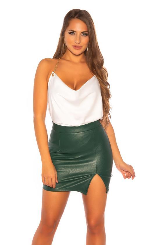 Chaki spalvos suknelė 9016