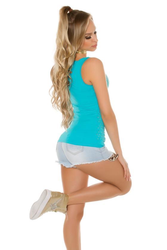 Žalios spalvos suknelė 9016