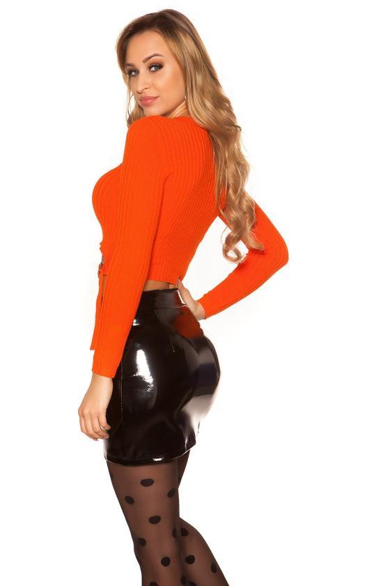 Rausvos spalvos suknelė 9016
