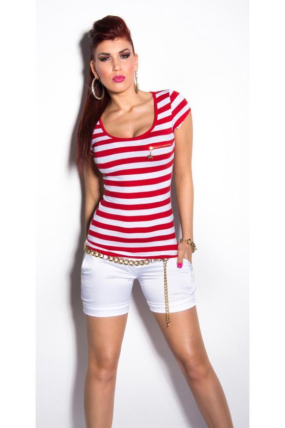 Raudonos spalvos suknelė 9016