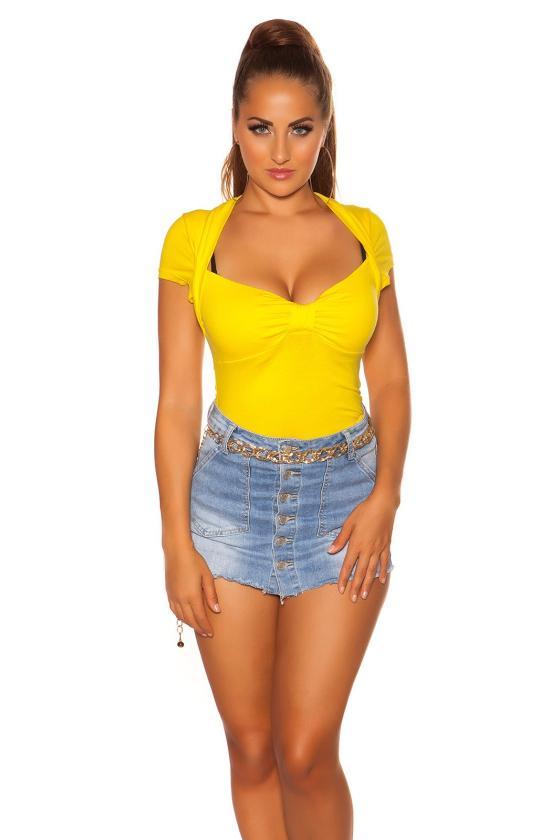 Juodos spalvos megzta suknelė su dirželiu