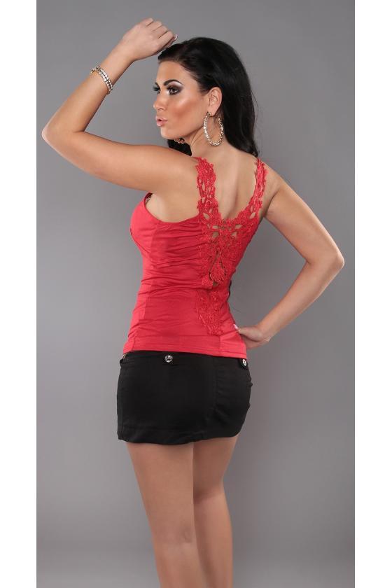 Juodos spalvos asimetriška suknelė_172070
