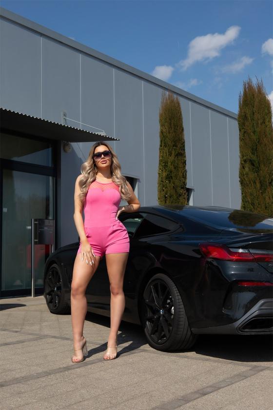 Chaki spalvos asimetriška suknelė_172082