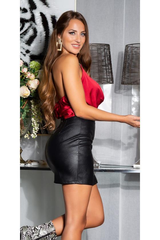 Oranžinės spalvos oversize suknelė_172120