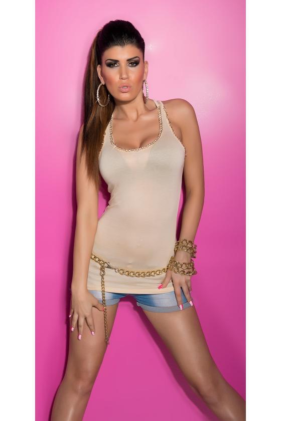 Pilkos spalvos oversize suknelė