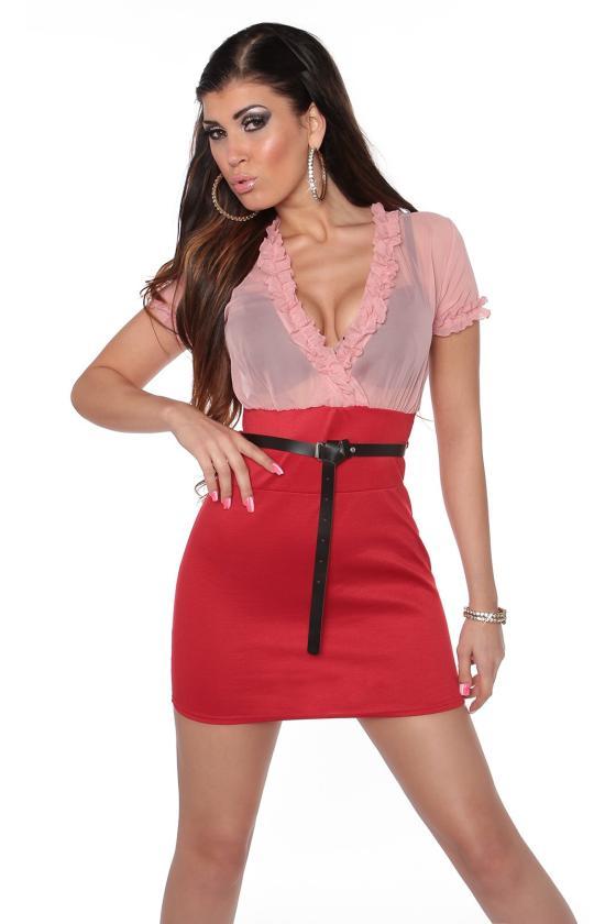 Bordinės šlapio efekto suknelė_172947