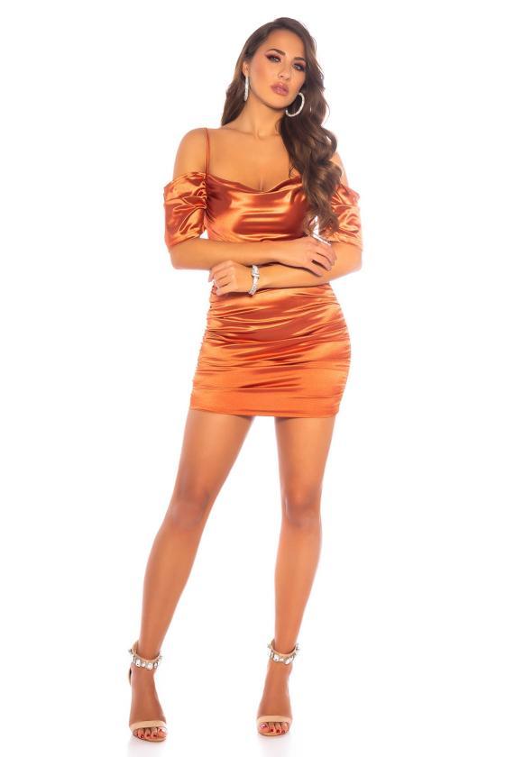 Juodos spalvos minimalistinė suknelė_174368