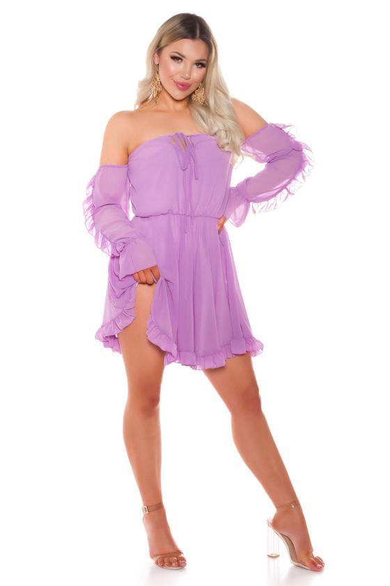 Mėtų spalvos šilta suknelė 5081_174379