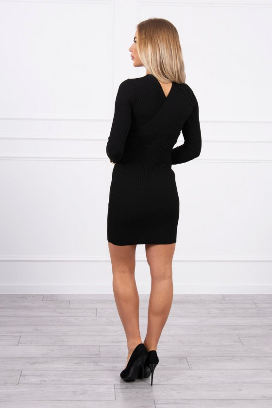 Juodos spalvos šilta suknelė 5081_174389