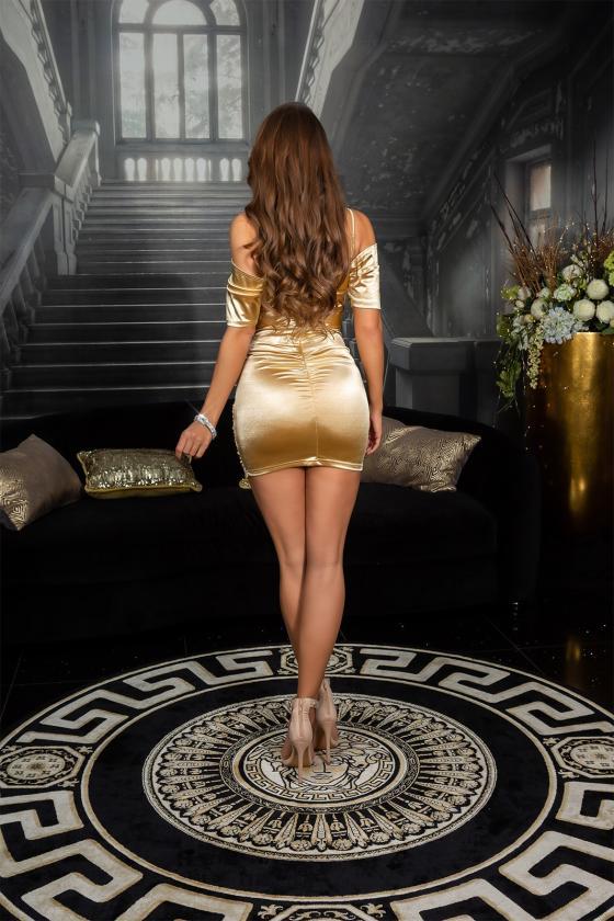 Juodos spalvos kelnės su prakirptomis klešnėmis