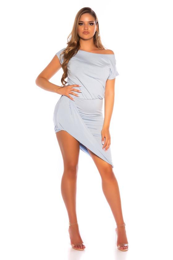 Marškinių stiliaus suknelė su dirželiu_174762