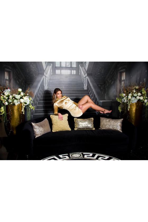 Žalios spalvos suknelė 20600