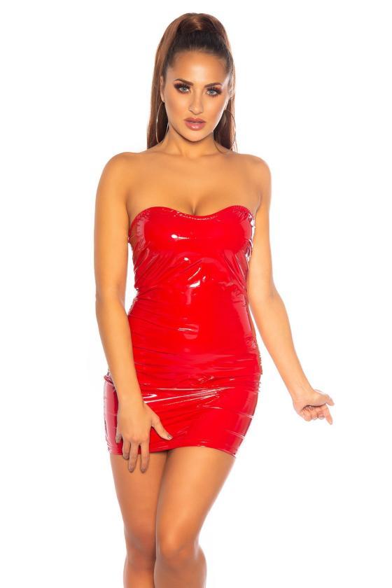 Baltos spalvos suknelė 20600
