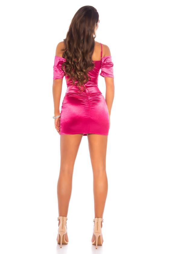 Baltos spalvos oversize marškiai QUEEN_175683