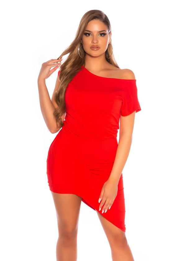 Smėlio spalvos suknelė su V formos iškirpte_175735