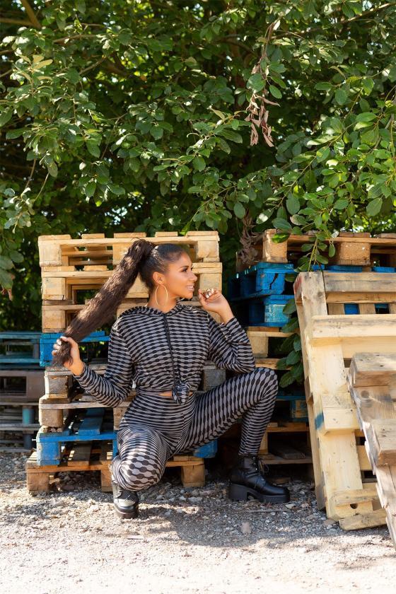 Rausvos spalvos satino imitacijos pižama_176679