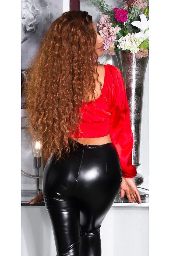 Juodos spalvos satino imitacijos pižama_176688