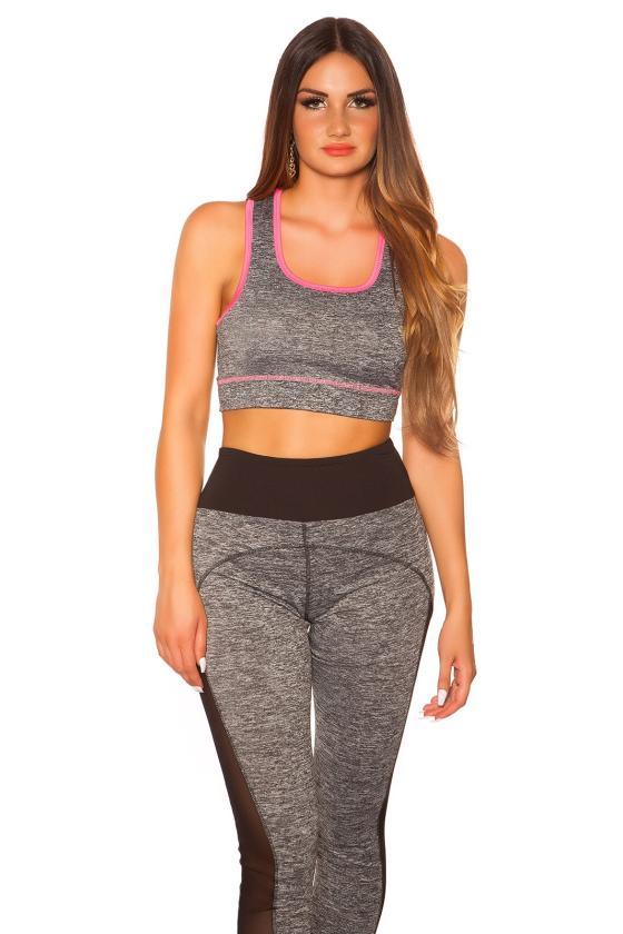 Baltos spalvos plėšyti džinsai su tinkleliu_177028