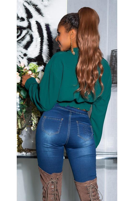 Bordinės spalvos veliūrio imitacijos suknelė