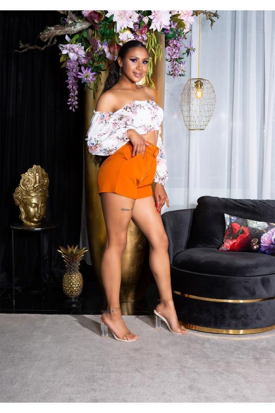 Neoninė rožinė laisvalaikio suknelė 8982