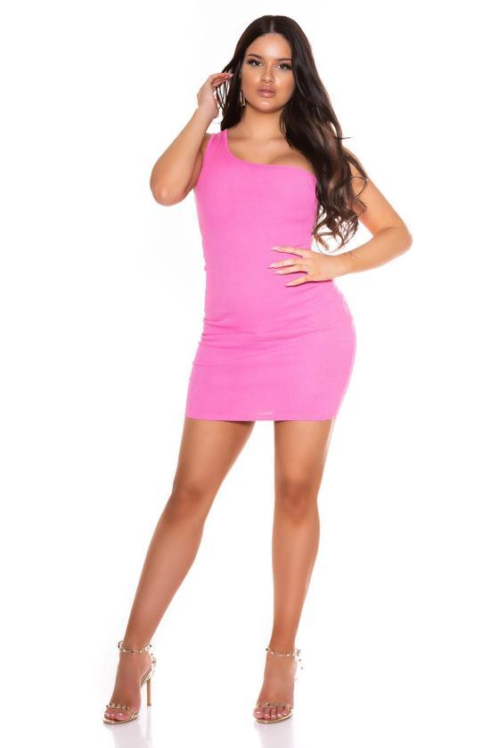 Neoninė rožinė laisvalaikio suknelė 8982_178334