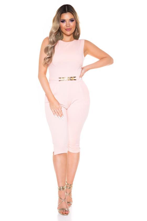 Žalios spalvos laisvalaikio suknelė 8982