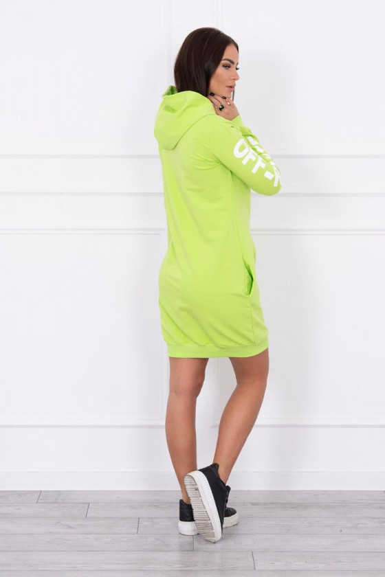 Žalios spalvos suknelė OFF-WHITE_178777