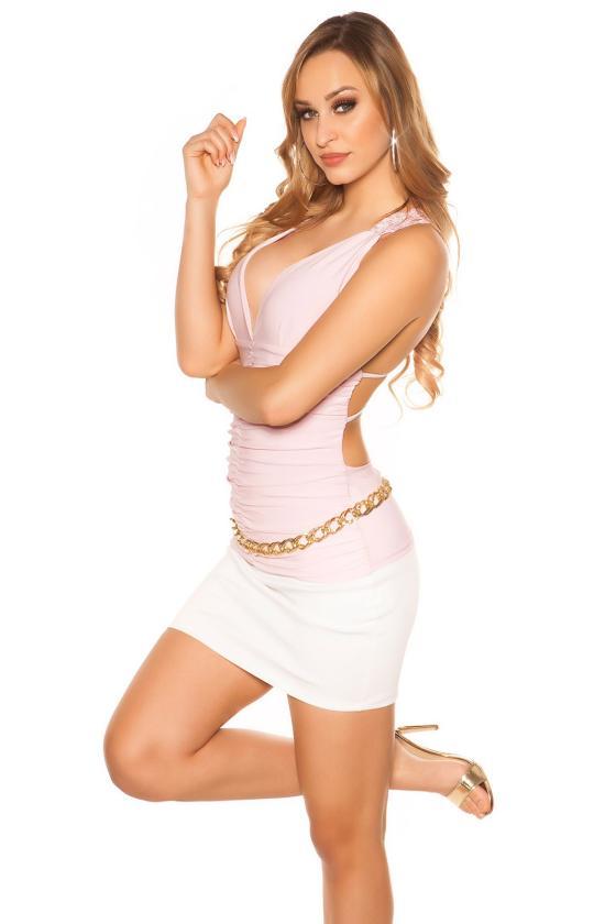 Žalios spalvos suknelė OFF-WHITE