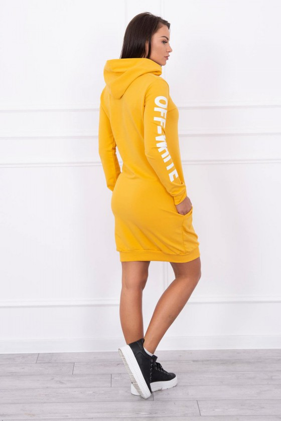 Geltonos spalvos suknelė OFF-WHITE_178780
