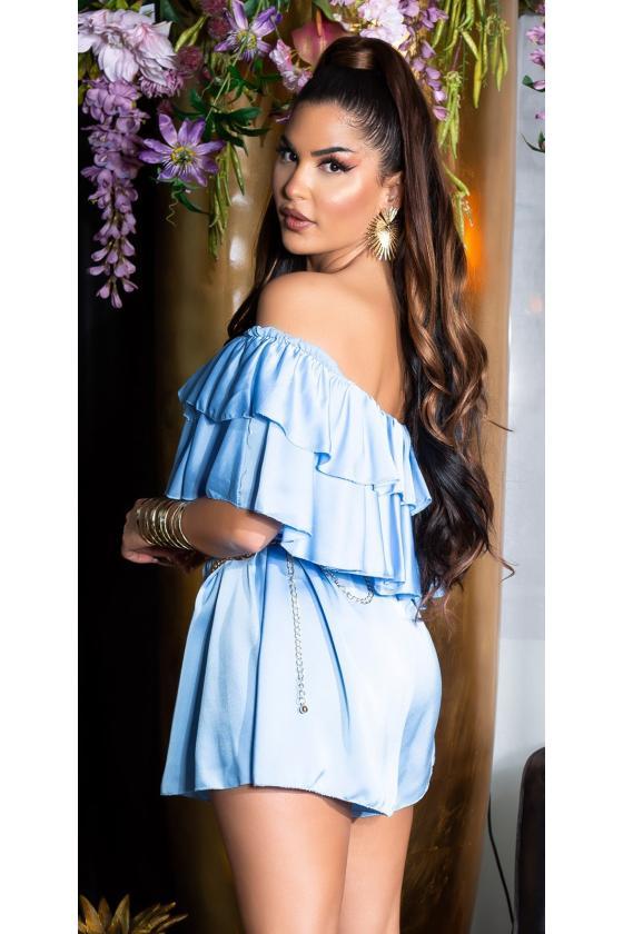 Neoninės oranžinės spalvos suknelė OFF-WHITE_178791