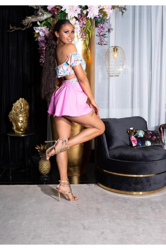 Neoninės oranžinės spalvos suknelė OFF-WHITE_178792