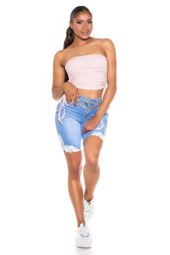 Neoninės oranžinės spalvos suknelė OFF-WHITE