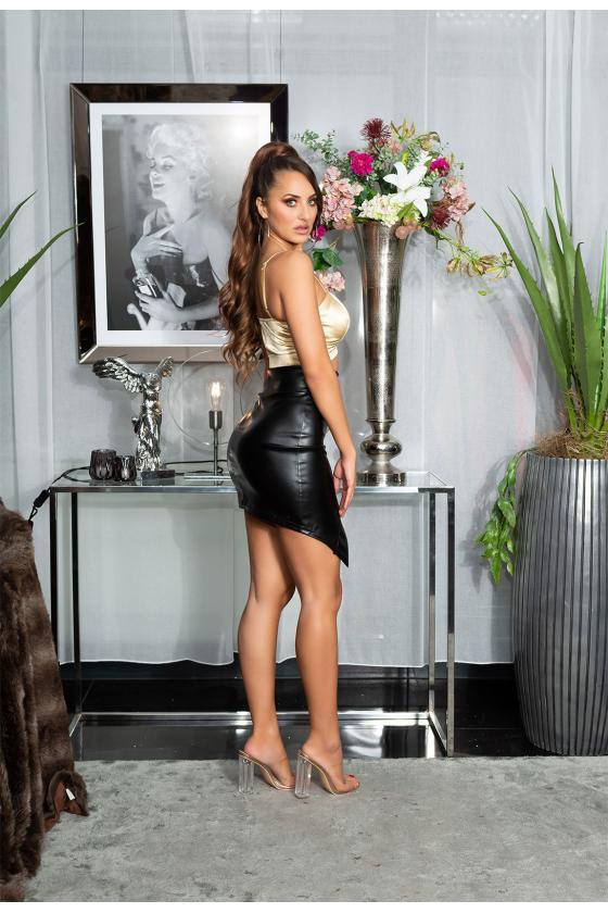 Neoninės geltonos spalvos suknelė OFF-WHITE_178794