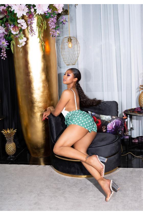 Neoninės geltonos spalvos suknelė OFF-WHITE_178795