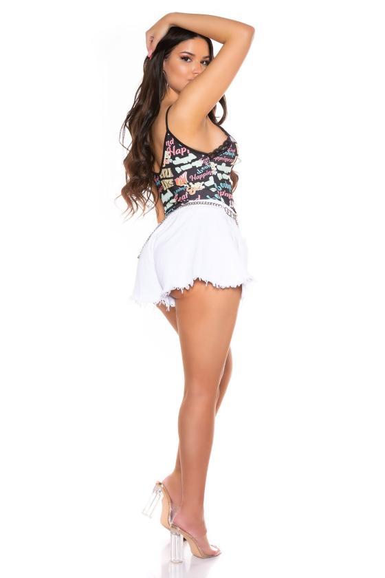 """Raudona """"skater"""" stiliaus suknelė su širdies formos iškirpte_179853"""