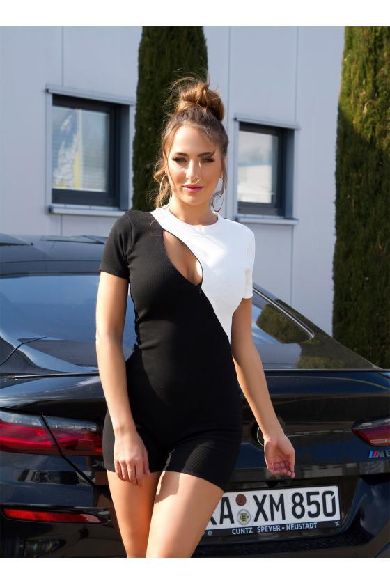 Raudonos spalvos suknelė CARMEN_179951