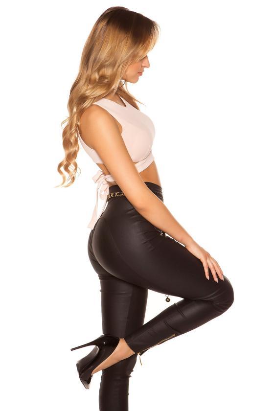 Natūralios odos krepšio modelis 152405 Mazzini