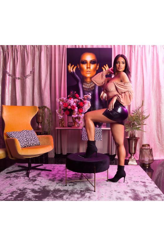 Tamsiai mėlynos spalvos oversize modelio apsiaustas_180534