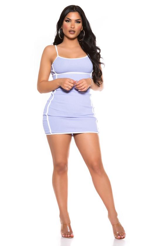 Tamsiai mėlynos spalvos oversize modelio apsiaustas_180535