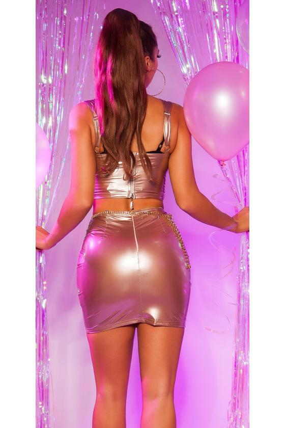 Raudonos spalvos oversize modelio apsiaustas