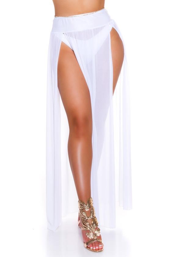 Raudonos spalvos oversize modelio apsiaustas_180547