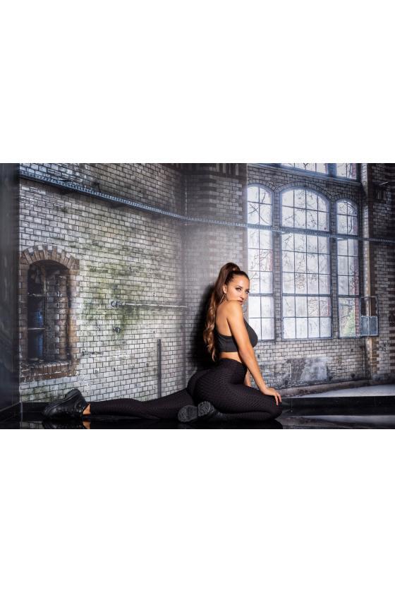 Mėlynos spalvos oversize modelio apsiaustas