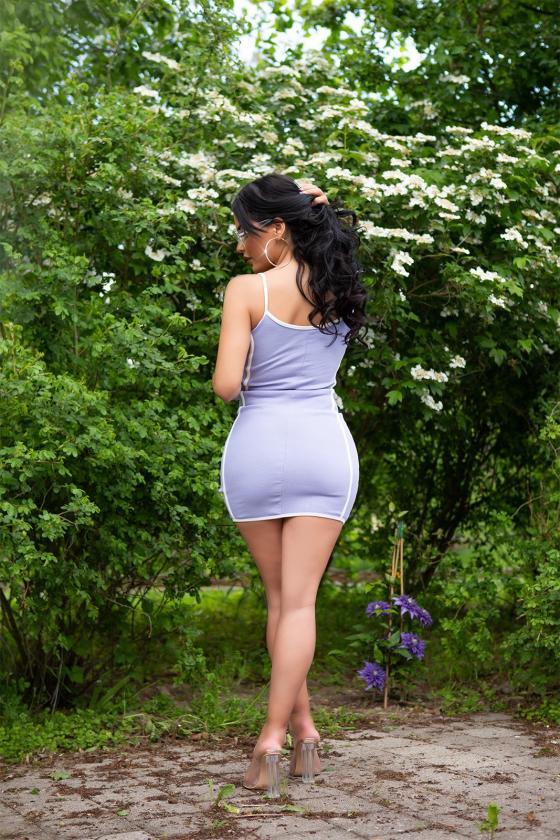 Mėlynos spalvos oversize modelio apsiaustas_180552