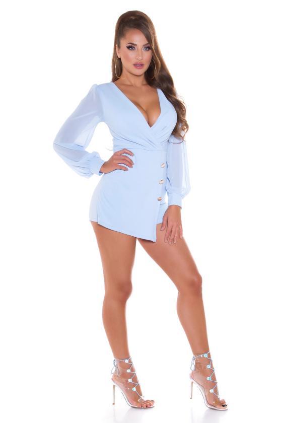 Geltonos spalvos oversize modelio apsiaustas_180583